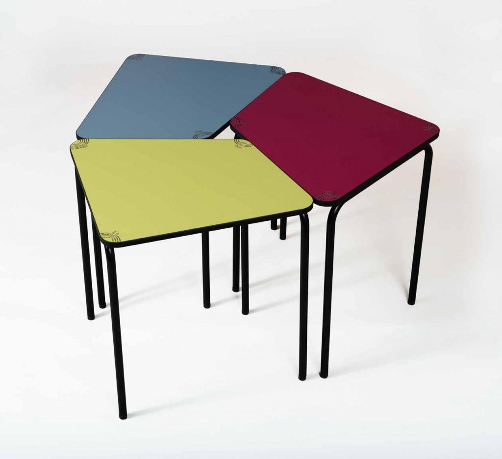 table scolaire adapt e la p dagogie active. Black Bedroom Furniture Sets. Home Design Ideas
