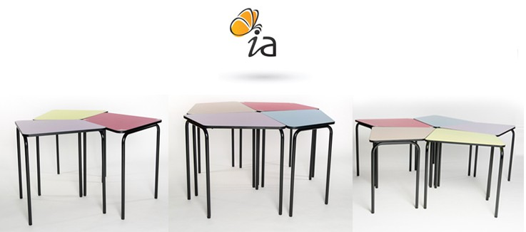 Une gamme de mobilier scolaire dynamique pour les classes