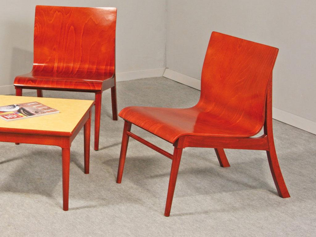 Chauffeuse en bois clara design et confortable - Chauffeuse confortable ...