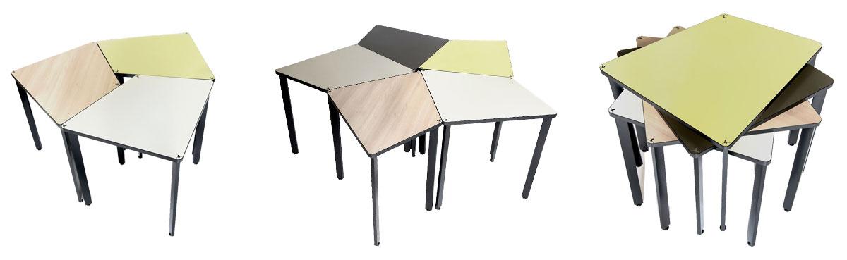 Table professionnelle du Programme 3.4.5., pour créer des espaces de travail collaboratifs