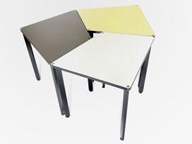 tables pour espace collaboratif, en entreprise ou en centre de formation