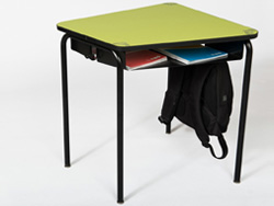 table avec casier, design et modulable