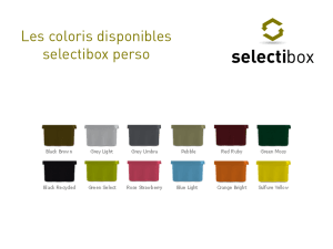 coloris poubelle selectibox perso
