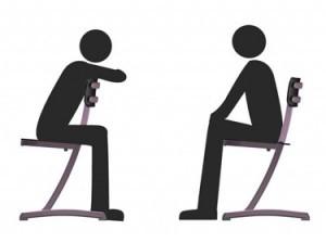 chaise-scolaire multi-position