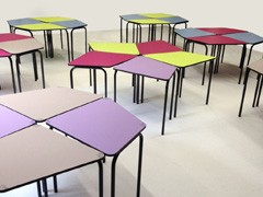 table-scolaire-design