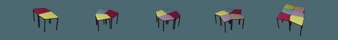 table scolaire design et innovante