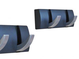 Patère magnétique avec accroches relevables