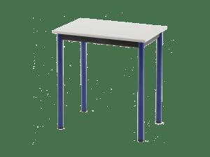 Table scolaire avec 4 pieds démontables