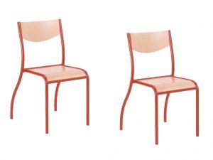 chaise empilable d'école Lafa