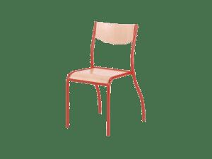 Chaise empilable d'école par LAFA