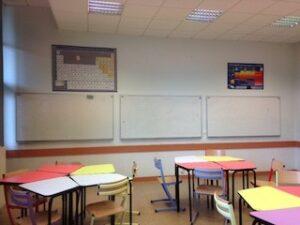 Tables d'école du lycée Dorian