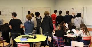 Tables scolaire lycée Dorian