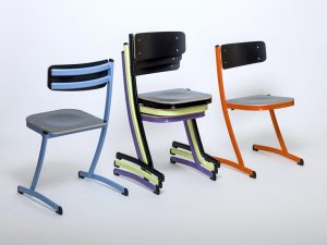 Chaise d'école modulable 3.4.5.