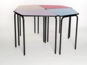 table d'école modulable, Le Programme 3.4.5.