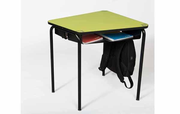 table scolaire avec casier, pour un enseignement dynamique et une classe modulable