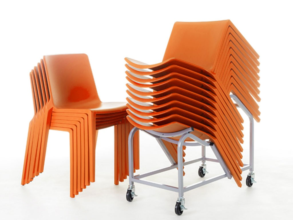 chaises design empilables Plaza