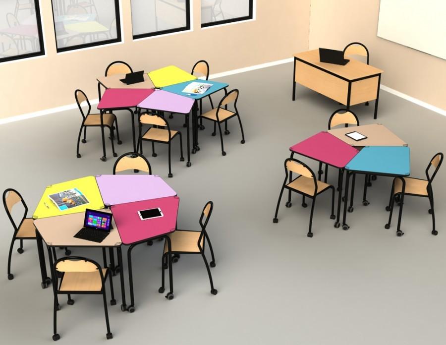 L'espace-classe devient modulable pour un apprentissage dynamique