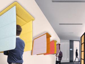 Isoloir phonique design pour entreprise