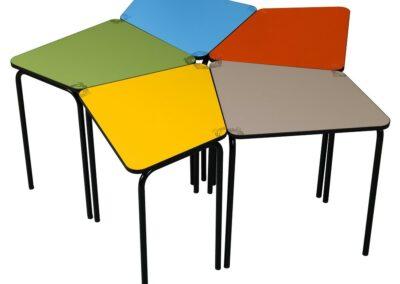 Tables Color de réunion / conférence