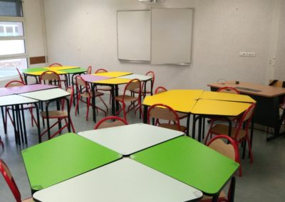 College Assomption classe flexible Table 345 2