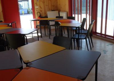 College oleron classe flexible Table 345 + Chaise Plaza 2