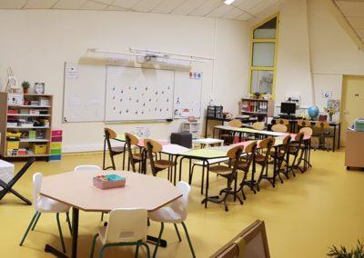 Ecole Mezieu classe flexible Table 345 primaire 1