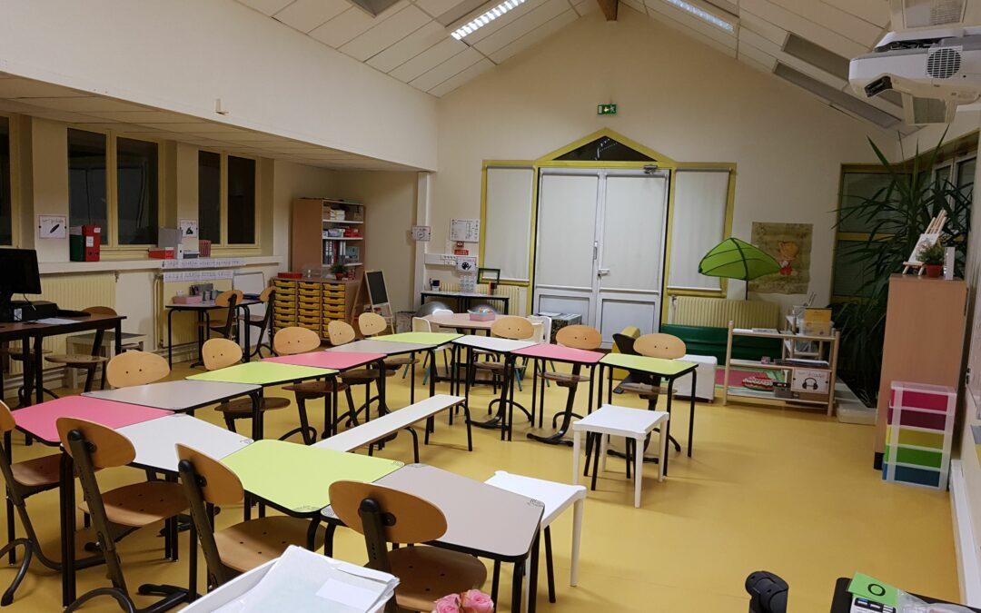 Nos tables d'école 3.4.5  ne seraient-elles pas adaptées à la méthode d'éducation Montessori?