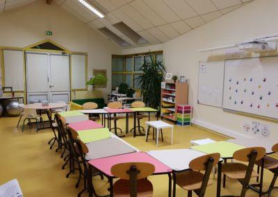 Ecole Mezieu classe flexible Table 345 primaire 3
