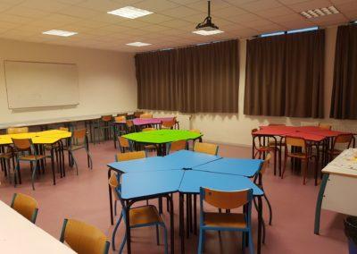 Ecole Rosa Parks classe flexible Table 345 primaire 2