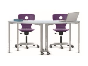 Table empilable Shift pour classe primaire