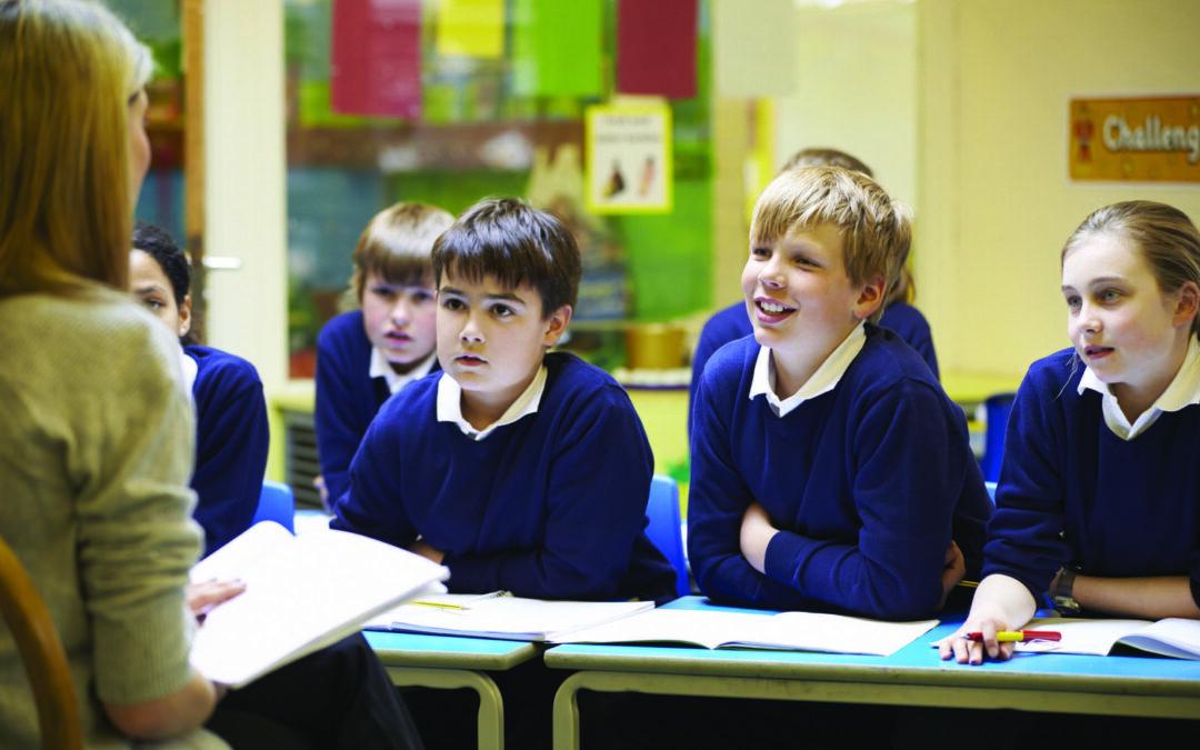 Les élèves sont au centre de la classe inversée