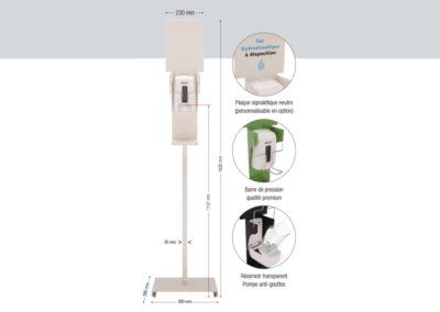 Gel hydroalcoolique à l'école, voici la solution Sanimains par IA France