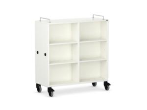 Armoires scolaires mobiles pour faciliter le rangement des salles de classe