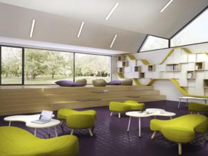 Assise design Puzzle, design et confortable