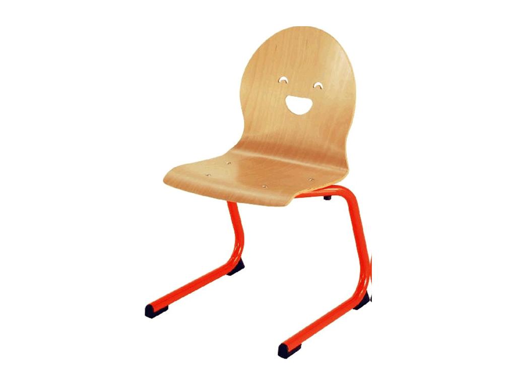 Chaise allégée Toon, empilable avec appui sur table