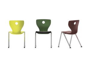 Chaise Compass 4 pieds pour professeurs, enseignants et éducateurs - VS Furniture