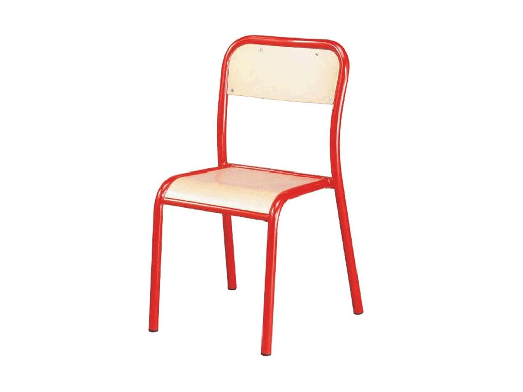 Chaise d'école disponible en 7 hauteurs d'assise, par IA France