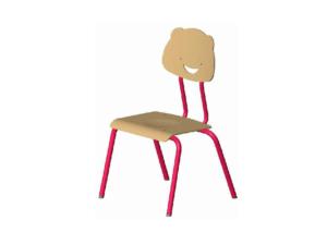 Chaise maternelle Cendrine au design ludique, par IA France