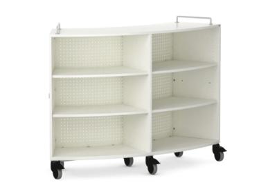 Le rayonnage mobile design s'intègre parfaitement dans votre mobilier scolaire.
