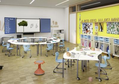 Salles de classe dynamique, optez pour un table modulable