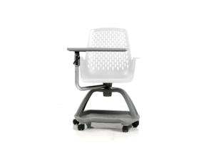 Siège dynamique pour collège ou lycée, chaise sur roulettes