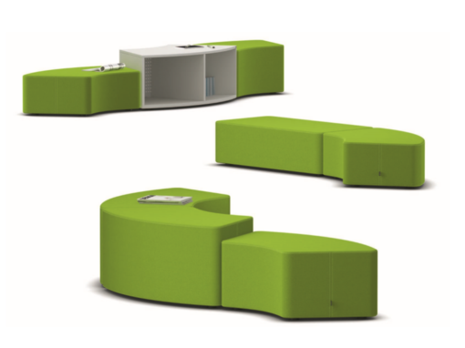 Système de sièges modulables SHIFT