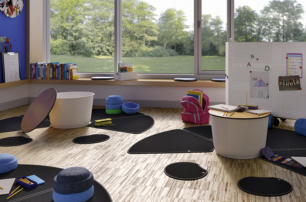 Table pour classe dynamique ou flexible par IA France