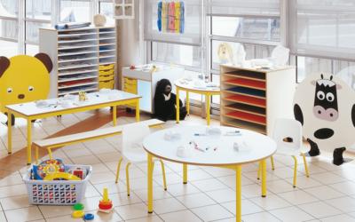 Notre sélection de mobilier scolaire pour aménager une classe flexible