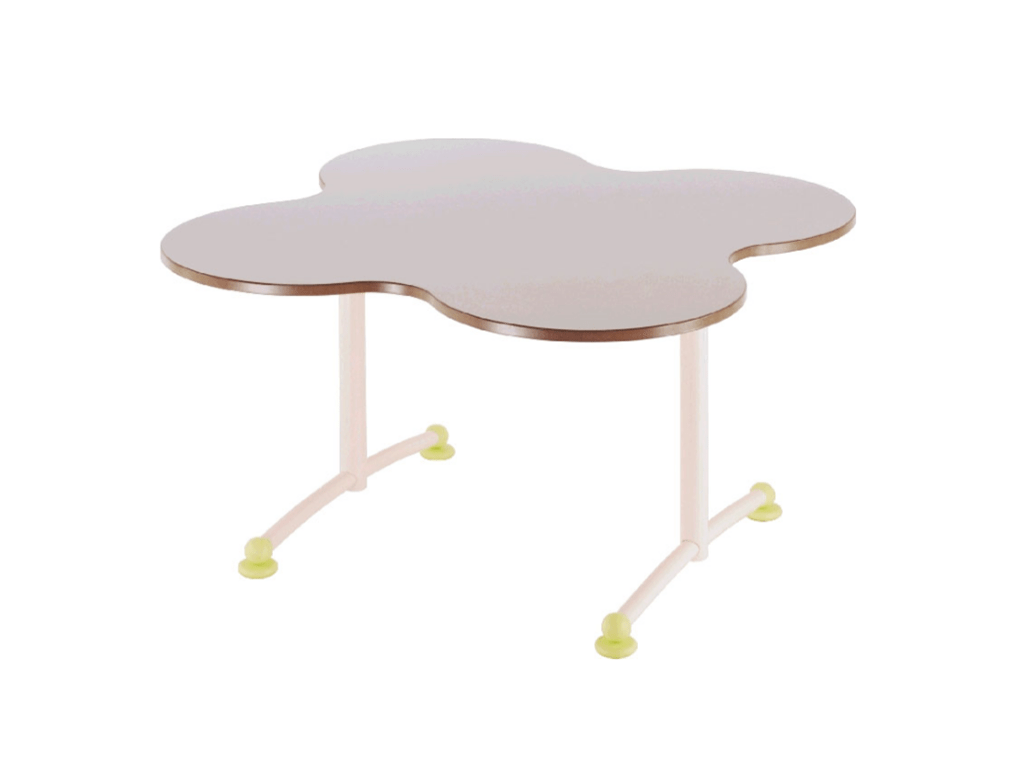 Table maternelle Ludo, un design ludique qui permet de les regrouper