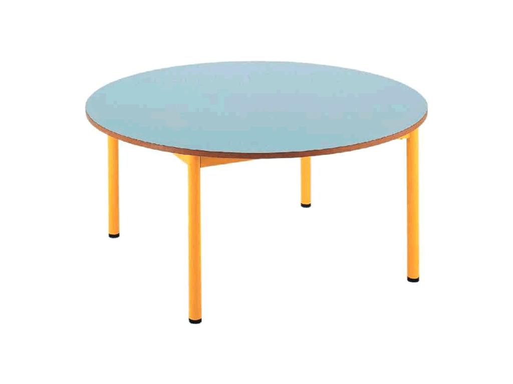 Table maternelle ronde pour école maternelle par IA France