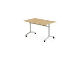 Table mobile à plateau basculant