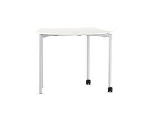 Table modulable IA France sur roulette et empilable