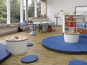 Table pour classe flexible ou dynamique