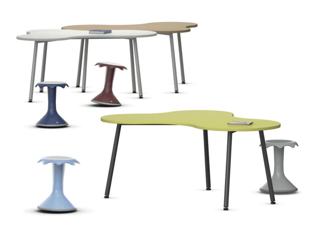 Table scolaire fantaisie Puzzle pour classe flexible
